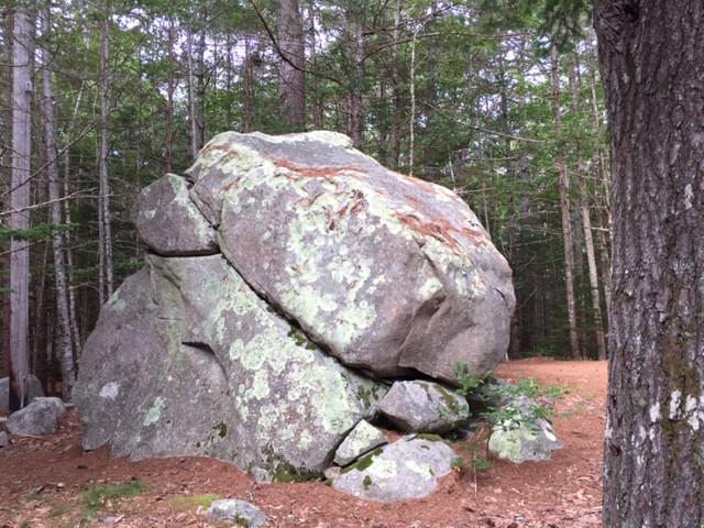Granite animal watcher