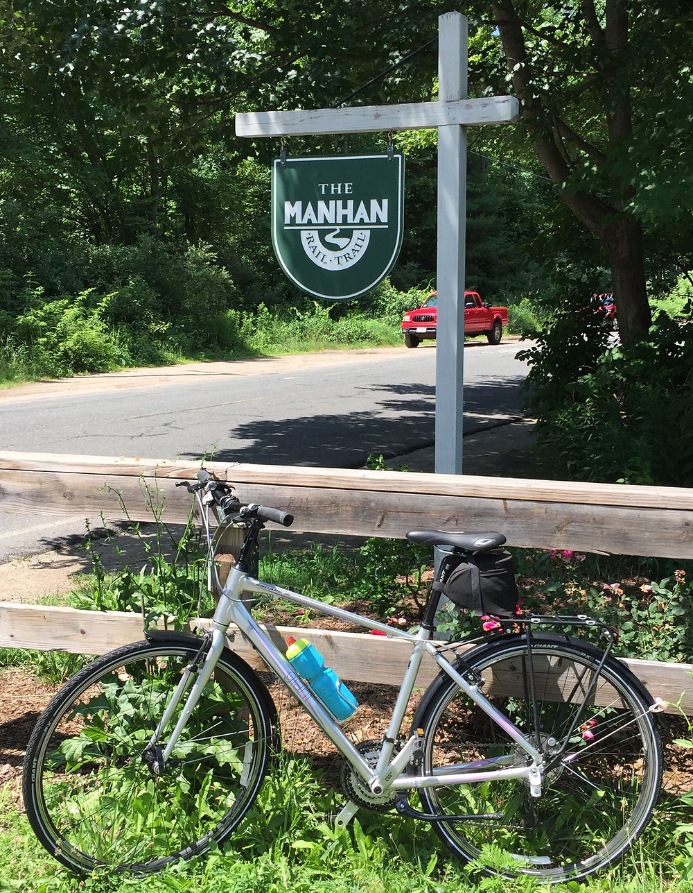 My bicycle at a trail head
