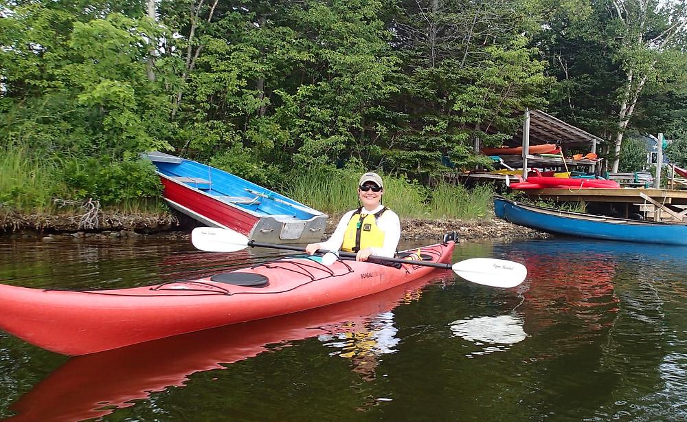 Eagle North kayaking