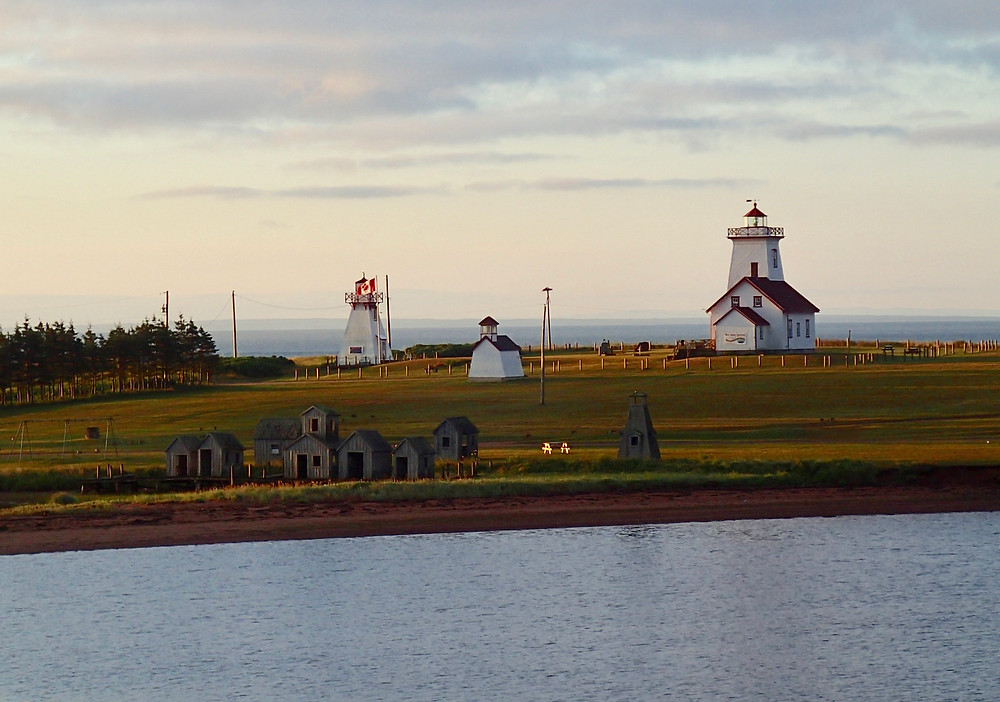 Last view of Prince Edward Island