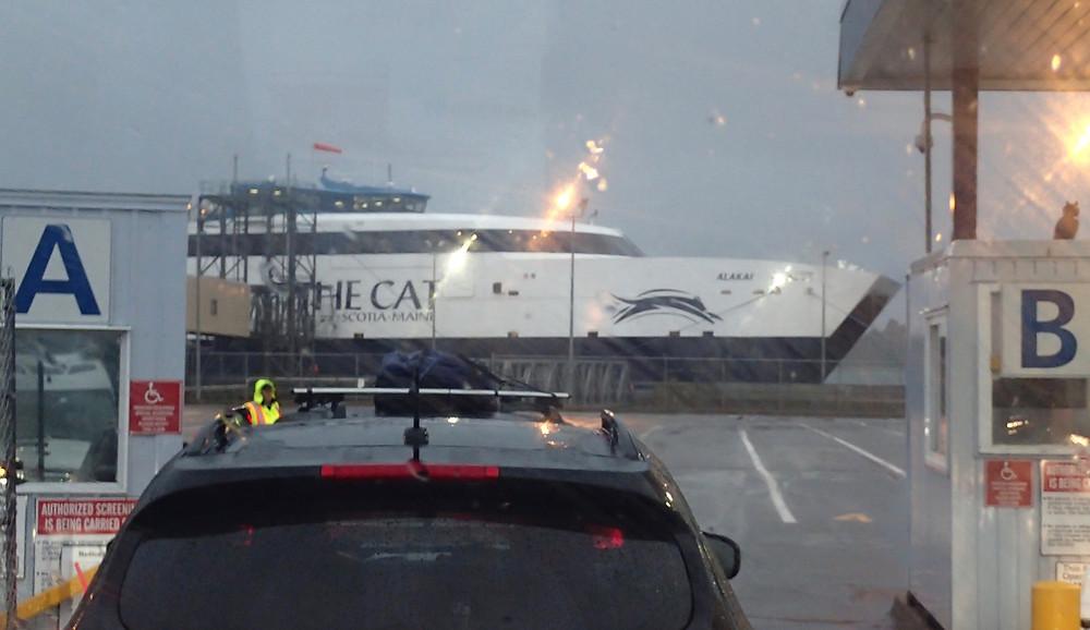 Ferry from Nova Scotia to Maine