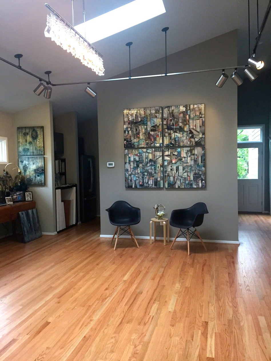 My Studio with sold four part piece