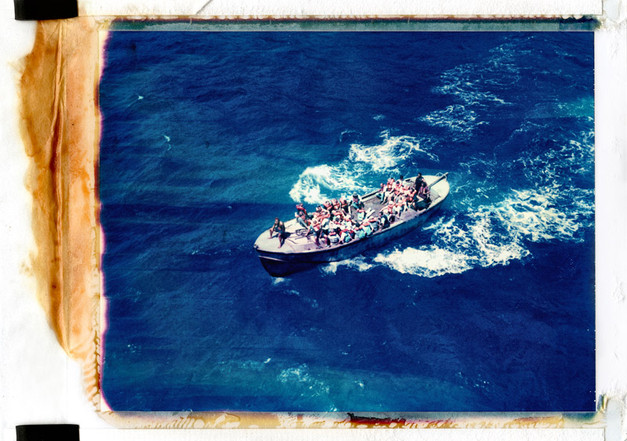 35. Longboat Moss Pitcairn Island