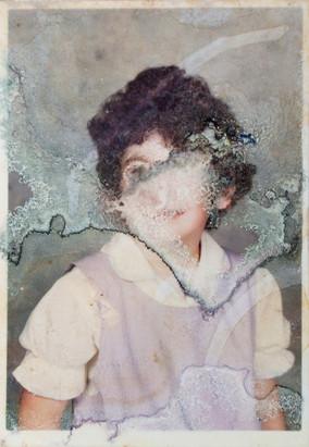31. Pitcairn Girl, found photograph