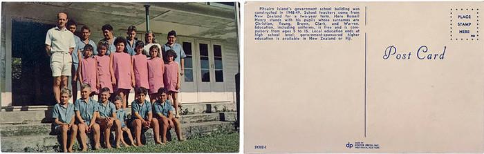Pitcairn Postcard