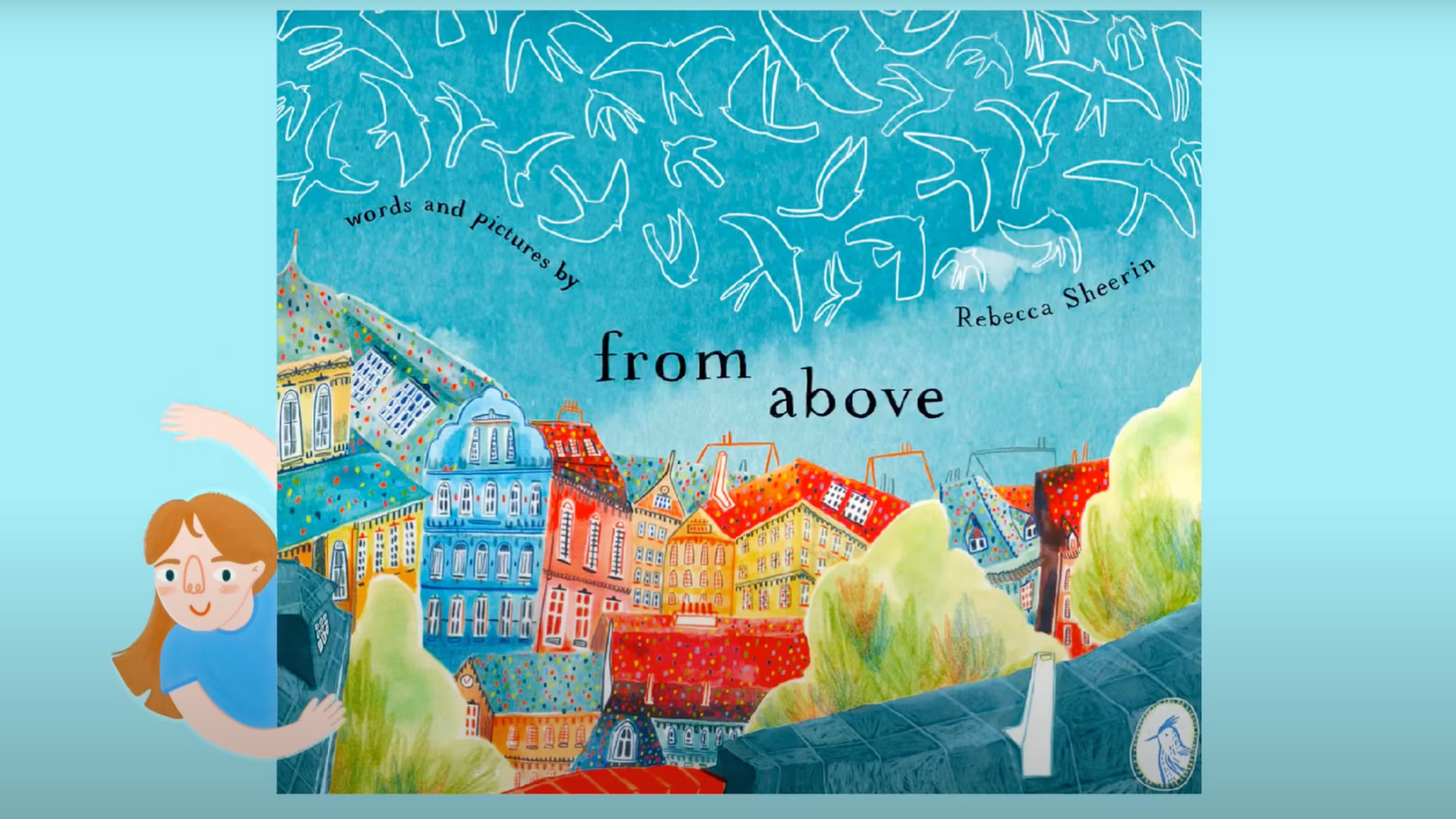 'From Above' An (in progress) picture book all about the lonely sky who wants to be down below with all the birds… but what is a bird without the sky?