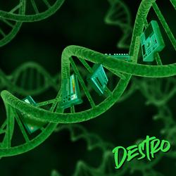 Destro Album Cover Art (Double Helix)