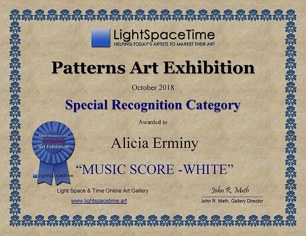 SR - Alicia Erminy  - PATTERNS 2018 ART