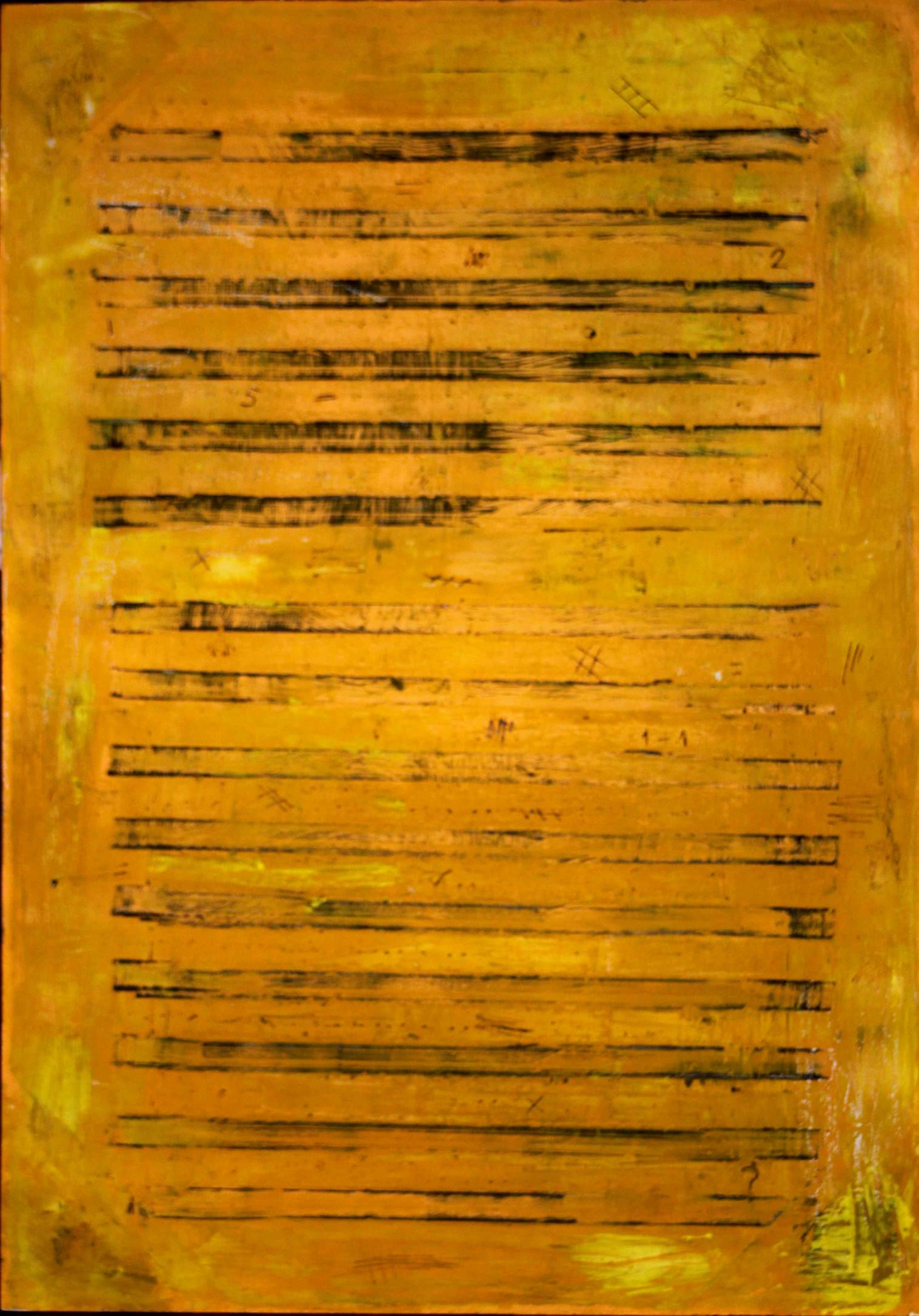 Partitura amarilla
