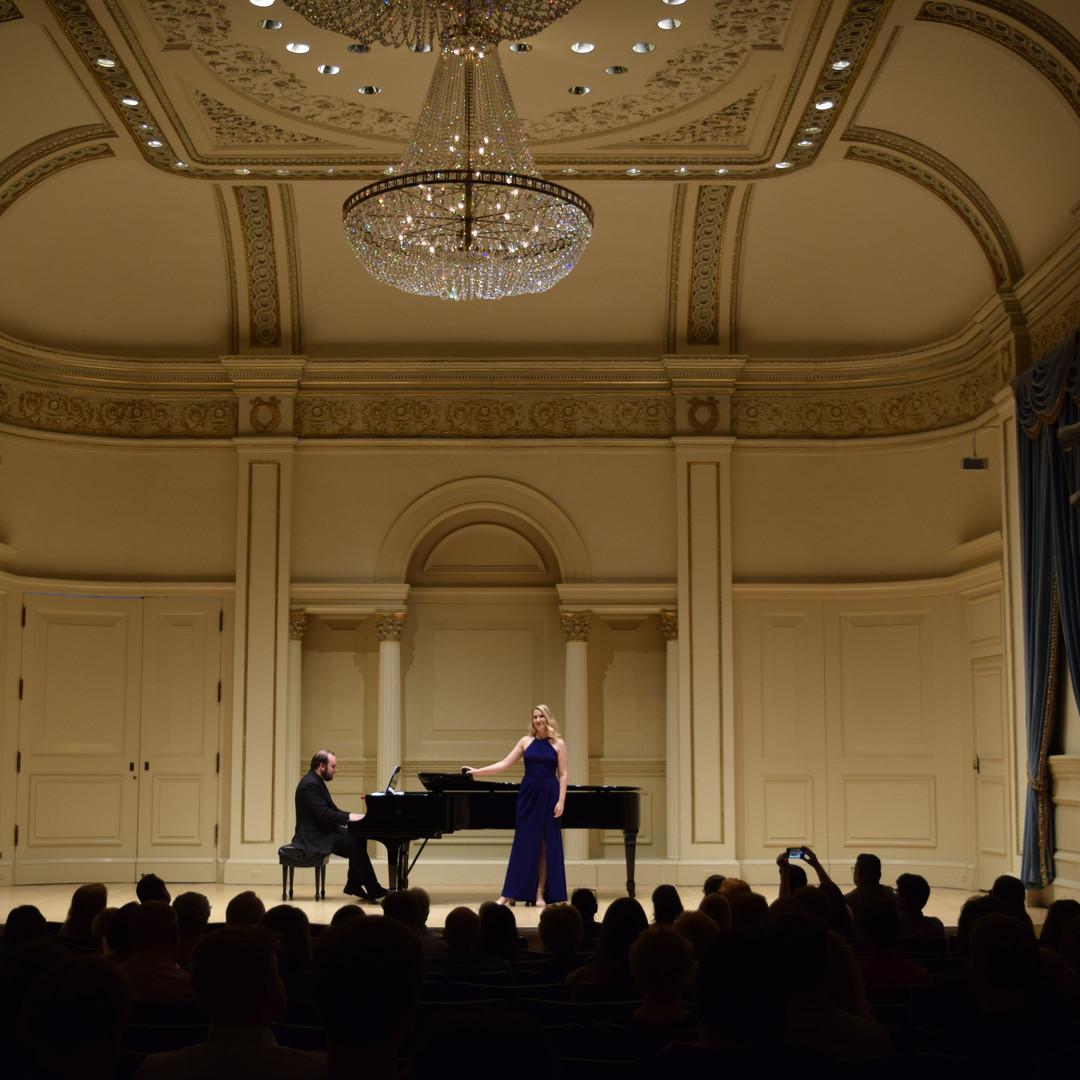 Concert at Carnegie Hall