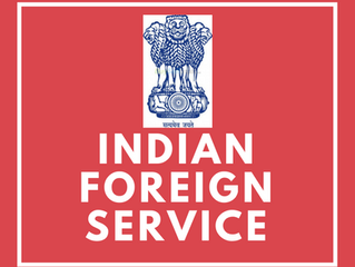 Chemistry and IFS (Indian Foreign Service)