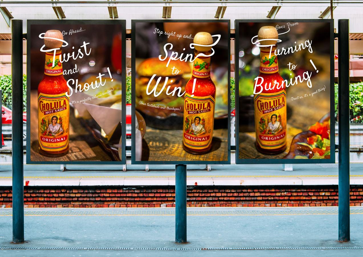 Cholula Advertisements
