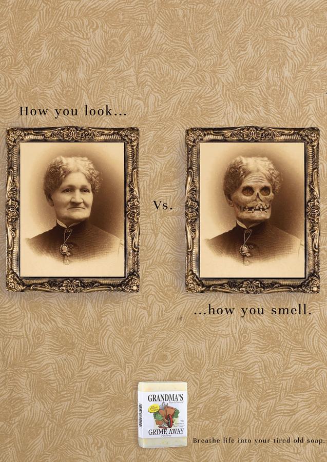 Grandma's Soap Advertisement