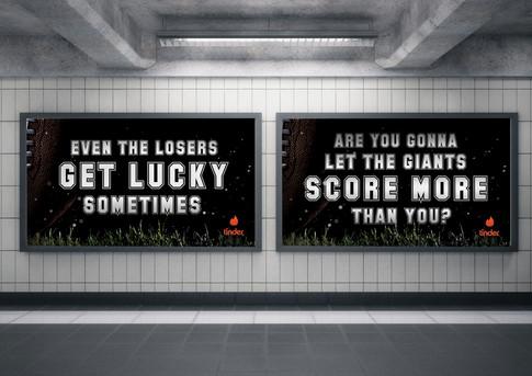 Tinder Sports Advertisement