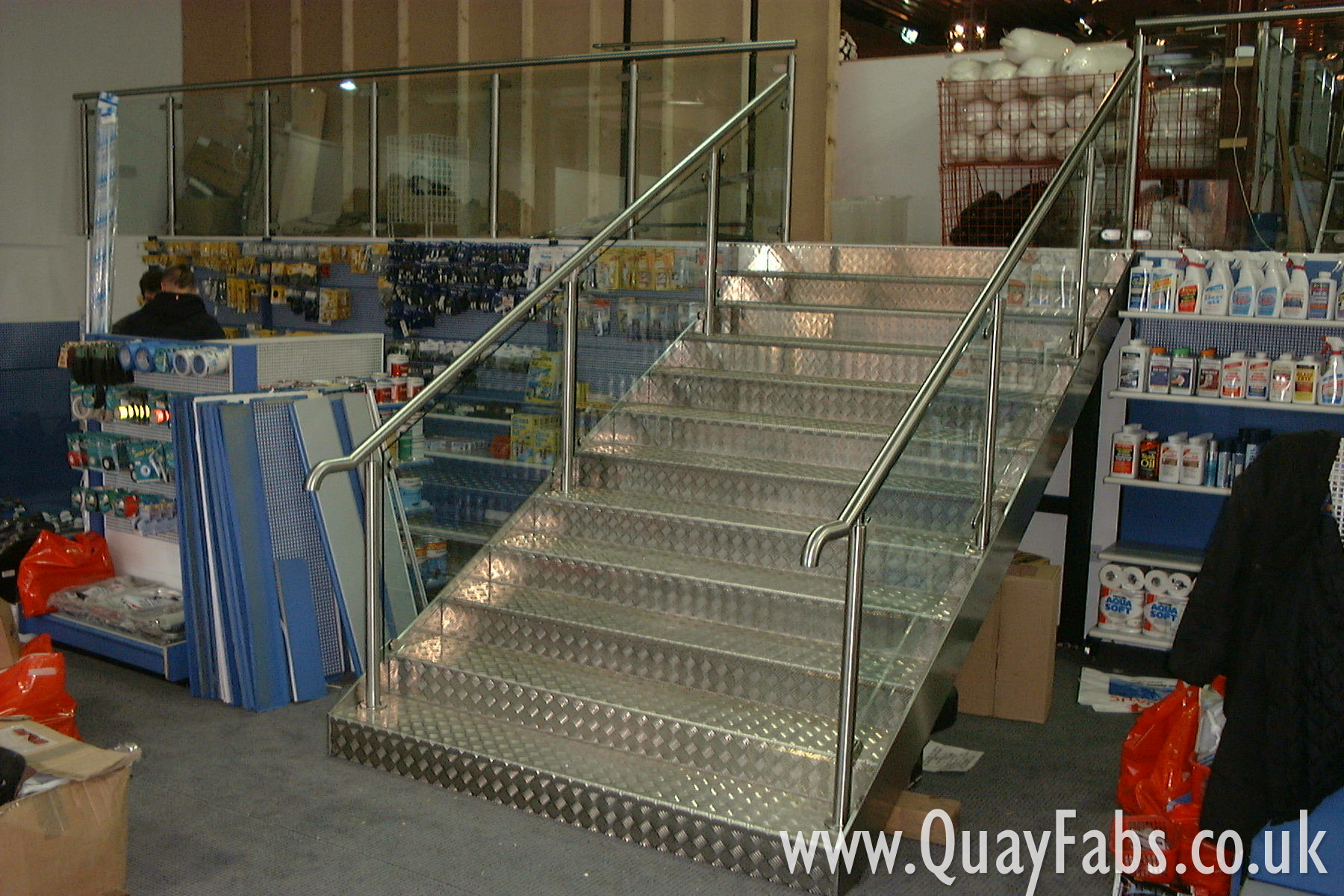 Quay Fabrications Lancaster Staircase (4)