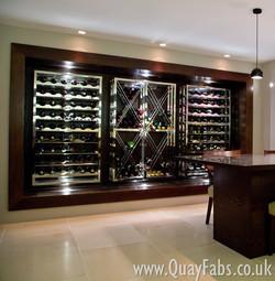 Quay Fabrications (Lancaster) Ltd Wine Rack (3)