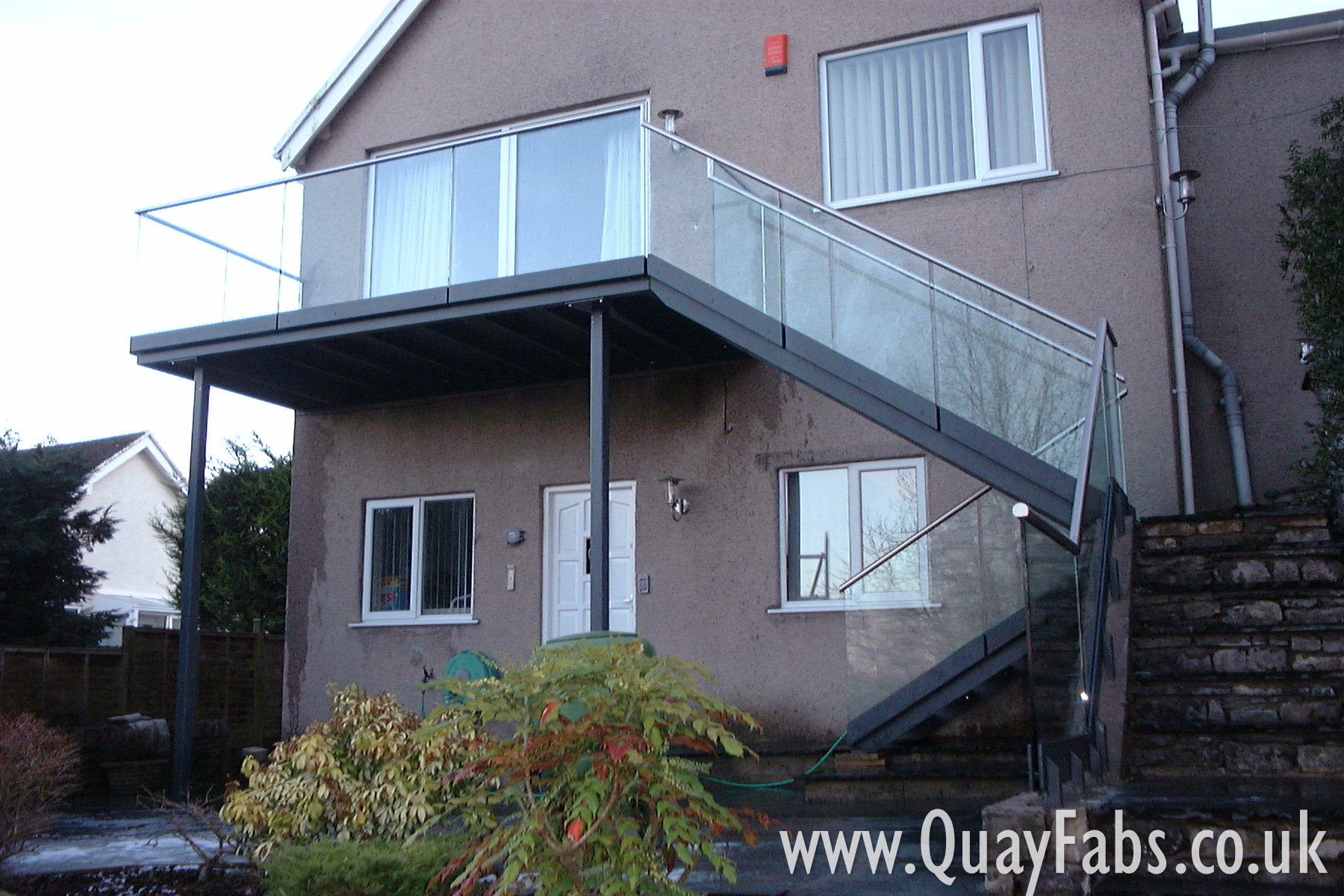 Quay Fabrications Lancaster Staircase (1)