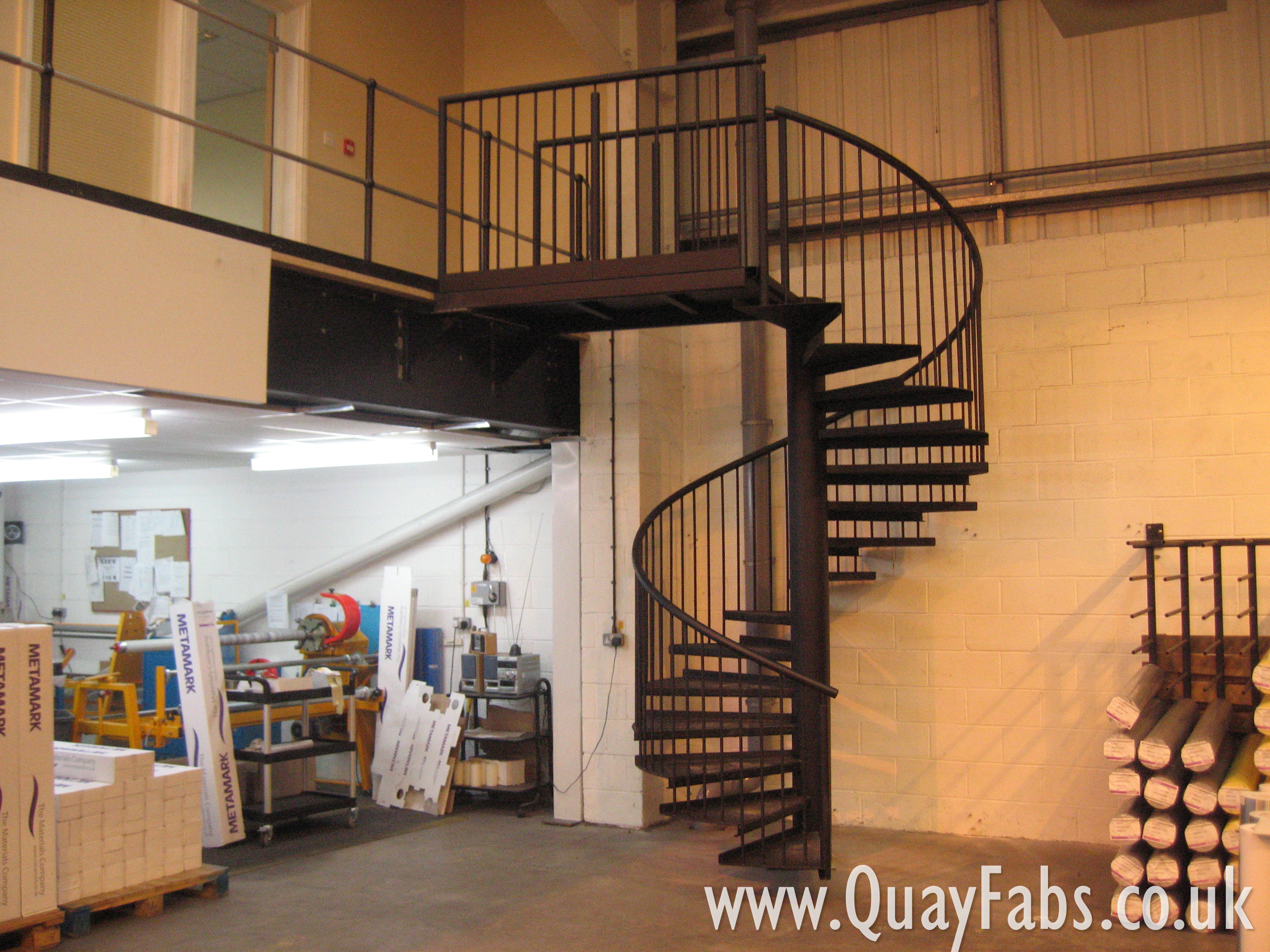 Quay Fabrications Lancaster Staircase (10)
