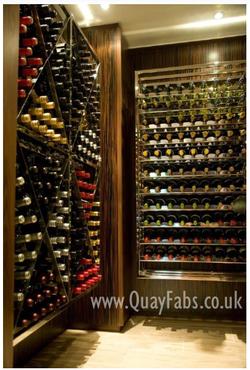 Quay Fabrications (Lancaster) Ltd Wine Rack (2)