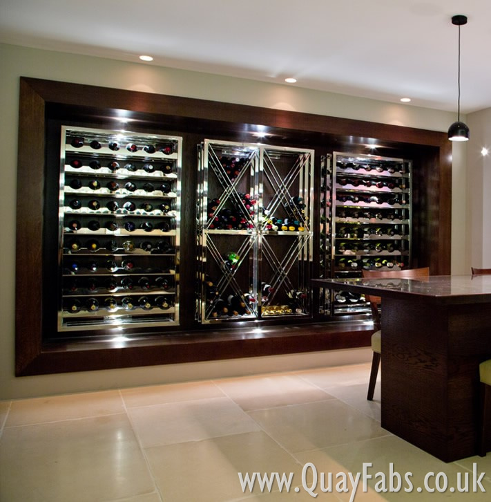Quay Fabrications (Lancaster) Ltd Wine Rack (3)
