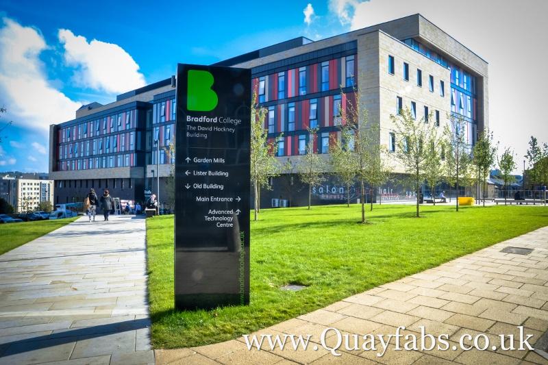 Quay Fabrications Lancaster Ltd Signage