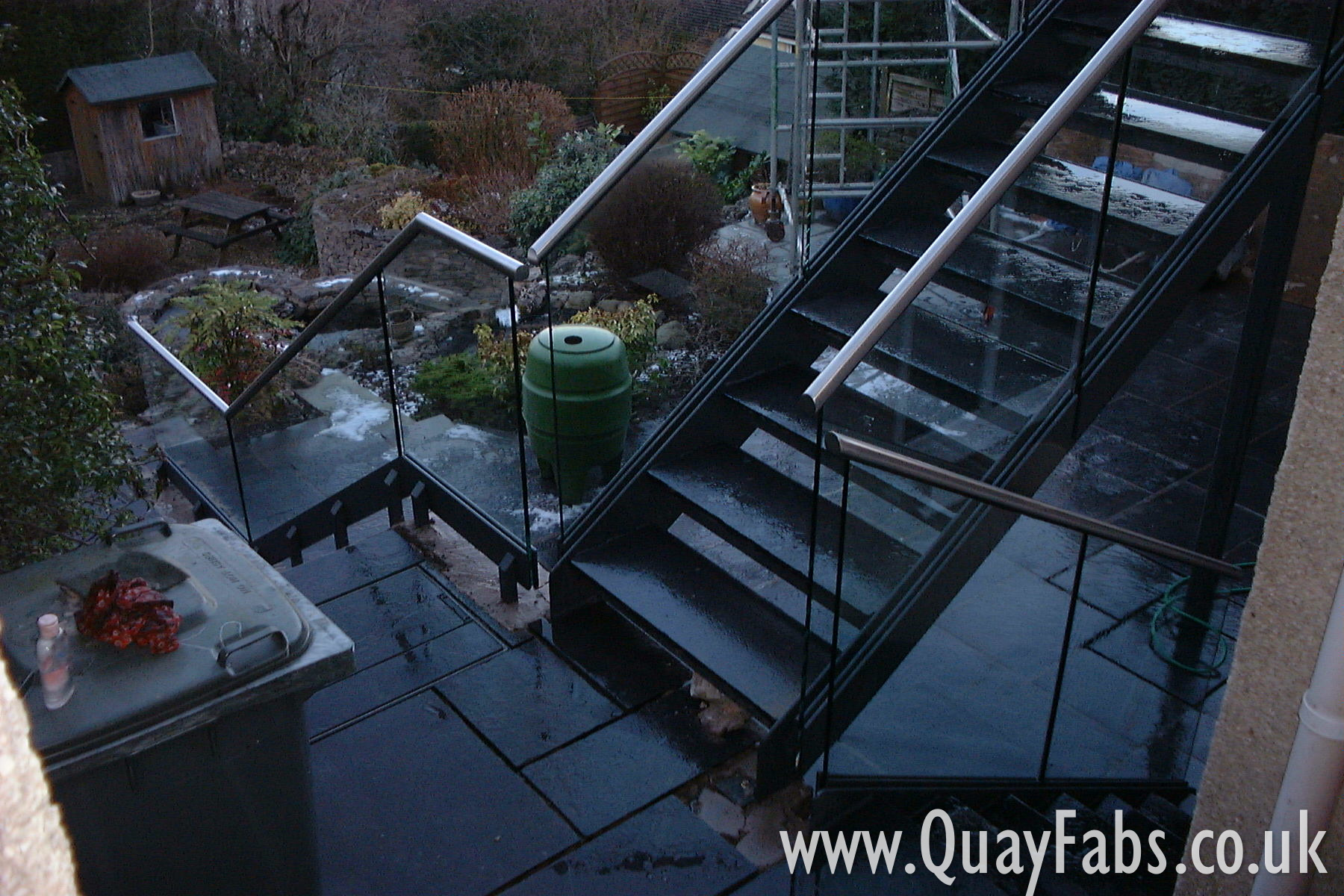 Quay Fabrications Lancaster Staircase (2)