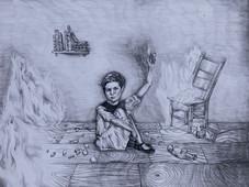 """Basya's Fire 18"""" x 24"""""""