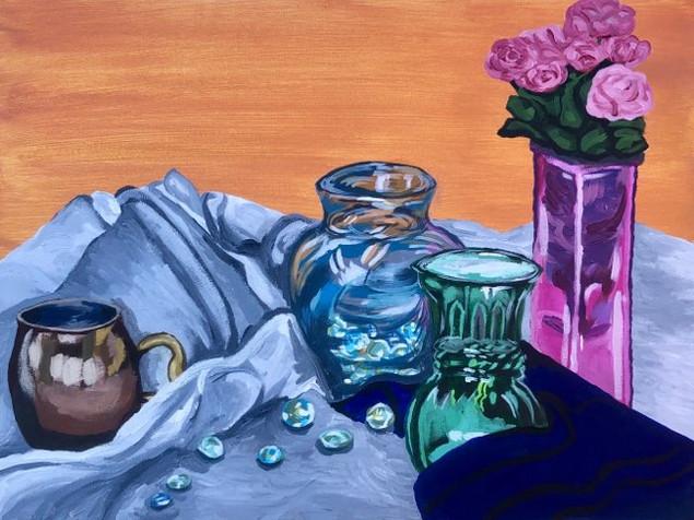 Glass, Copper and Cloth