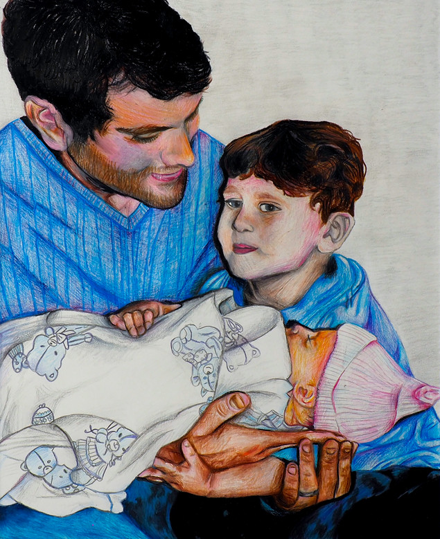 """First Day 12.5"""" x 16"""""""