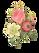 花のイラストリバース
