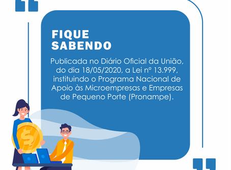 INFORME ESTRATÉGICO – PROGRAMA NACIONAL DE APOIO ÀS MICRO E PEQUENAS EMPRESAS (PRONAMPE)