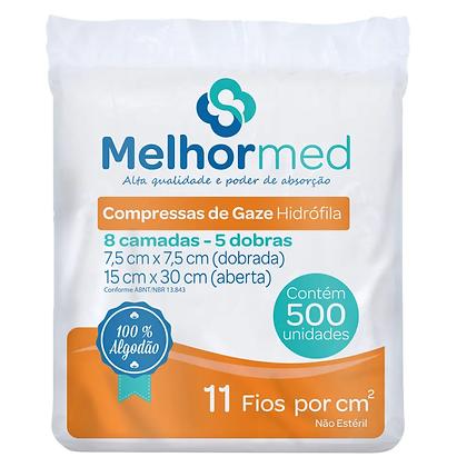 COMPRESSA DE GAZE 11 FIOS MELHORMED