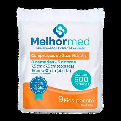 COMPRESSA DE GAZE 9 FIOS MELHORMED