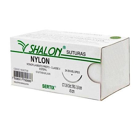 FIO AGULHADO NYLON SHALON
