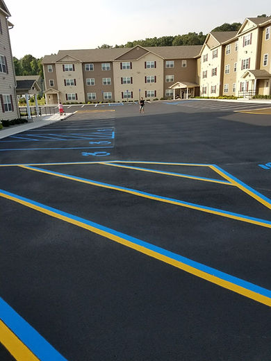 Parking Lot Sealcoating and Striping in New Windsor