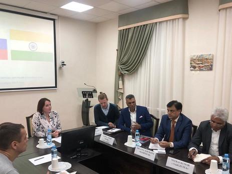 Индийские предприниматели побывали в Сибири для знакомства с томским бизнесом.