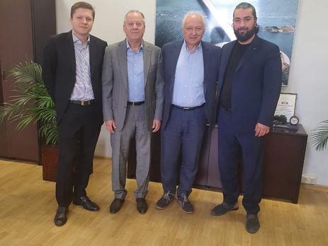 Председатель Группы компаний Сибирский Альянс встретился с Ректором ГМПИ им. Ипполитова-Иванова