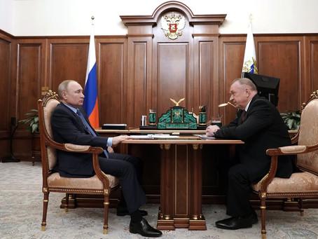 Владимир Путин провёл рабочую встречу с президентом ТПП.