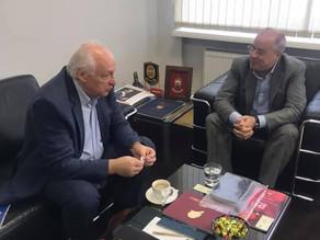 Руководство МДЦ VP35 встретилось с ректором ГМПИ имени Ипполитова-Иванова.