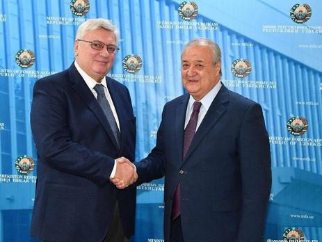 Визит делегации МГИМО в Узбекистан.