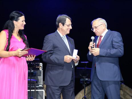 Гала вечер Кипр-Россия прошёл в Президентском дворцев Никосиа на Кипре