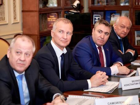 Руководство НГК встретилось с министром культуры РФ Ольгой Любимовой