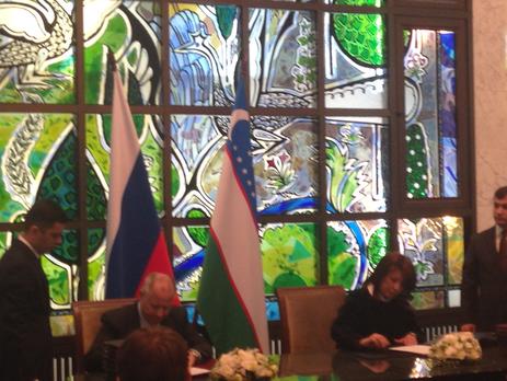 Подписаны взаимовыгодные соглашения с Республикой Узбекистан