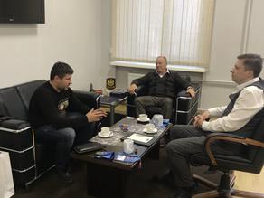 В Мдц Vp 35 прошла встреча с директором отдела НЦБ Интерпола Санкт-Петербурга и Ленобласти