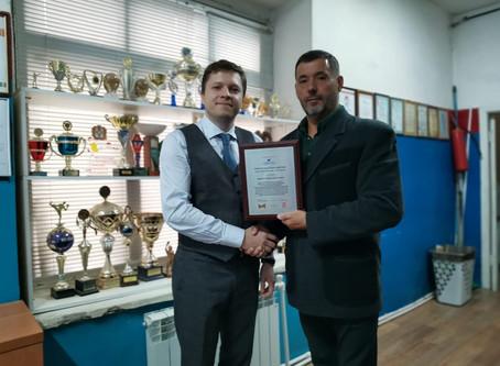 Встреча с президентом Омского отделения Международной полицейской ассоциации Российской секции.