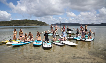 stand up paddle hen weekends