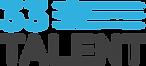 33 Talent blue and black logo horizontal
