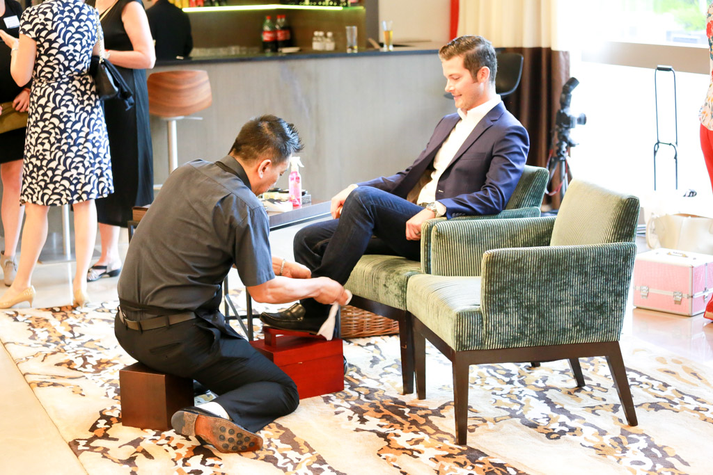 The Shoeshine Redemption