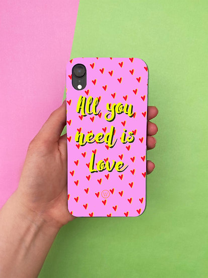 'LOVE' PERSONALISED IPHONE CASE
