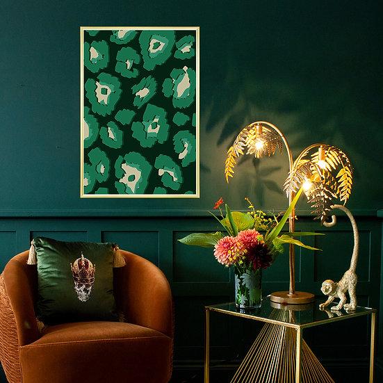 Gili Green Print